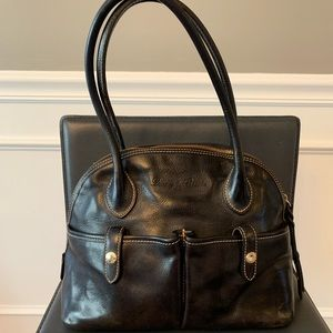 Dooney Bourke shoulder pebble leather bag
